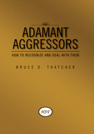 HST Book cover for Adamant Aggressors